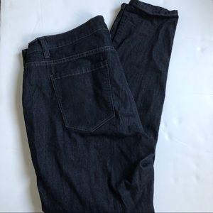 Forever 21+ Black Skinny Jeans Size 16